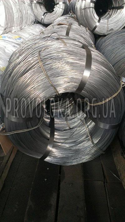 Проволока стальная оцинкованная ГОСТ 3282-74