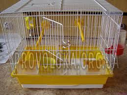 Клетка для птиц, попугая, канарейки из сетки оцинкованной