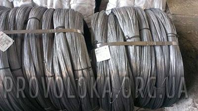 Проволока стальная вязальная для увязки 1,2 мм